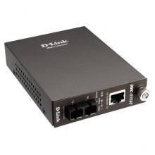 Медиаконвертер D-Link DMC-515SC, 1xRJ-45, 1хSFP(SC) TX/RX, 1310нм, одномод, Б/У
