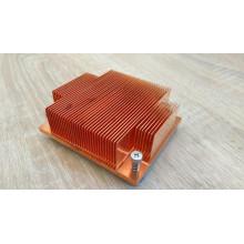 БУ Радиатор для процессора s604, 90х80мм, медь