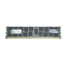 БУ Оперативная память для сервера Kingston (Dell) 16GB DDR3 ECC REG 1600 MHz (KTD-PE316LV/16G)