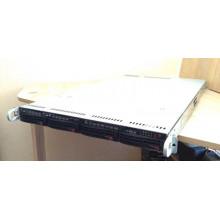 "БУ Сервер 1U Supermicro 6018U (4x3.5"") Xeon E5-2620 V3 (6x3.2 GHz), no RAM, no HDD, 750W"