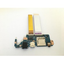 БУ Оригинальная плата Audio USB Ethernet DA0FI3TB8E0 REV:E для Sony Vaio SVF15N со шлейфами