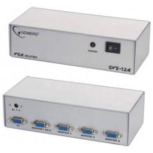 БУ Телекоммуникационный разветвитель VGA Cablexpert GVS124 (из 1 на 4 - VGA, GVS124)