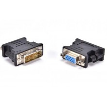 БУ Адаптер DVI to VGA, 24+5pin (DVI-I)