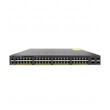 БУ Коммутатор управляемый Cisco Catalyst 2960X, 48 x Gigabit, 4хSFP, 2хUSB (WS-C2960X-48TS-L)