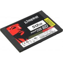 """БУ Накопитель SSD Kingston SSDNow KC400 512GB (2.5"""", SATAIII, MLC, SKC400S37/512G)"""