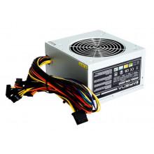 БУ Блок питания 500 Вт Chieftec, 24+4 pin, питание видеокарты - 1x(6+2pin), 120 мм, ATX, GPA-500S8