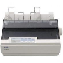 БУ Принтер матричный A4 Epson LX-300+II, 9 игл, 300 знаков/сек, USB, LPT